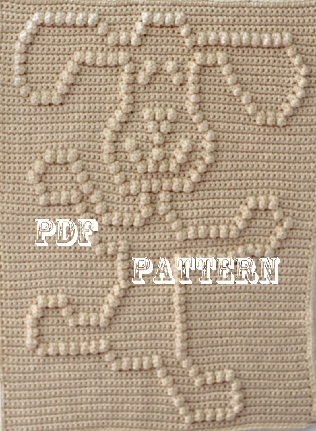 Crochet Pattern For Dog Blanket : Crochet Pattern Crochet Baby Blanket Dancing Dog Baby