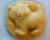 Itty Bitty Kitty - Kitten Handmade Stoneware Cookie Mold