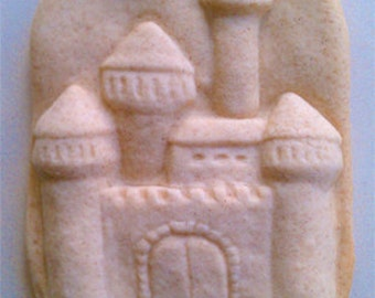 Stoneware Medieval Castle Cookie Mold