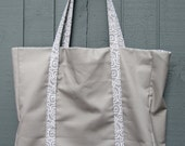 The Holds Everything Bag - Cool Grey