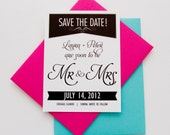 Tuxedo Save the Date Card