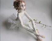 """OOAK art doll  """"Ballerina""""/ RESERVED"""