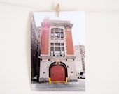 Ghostbusters Firestation, Hook & Ladder - 6x4 Photoraphy Print - FREE UK SHIPPING