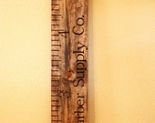 Children's Ruler Growth Chart - DECAL KIT (Board not included)