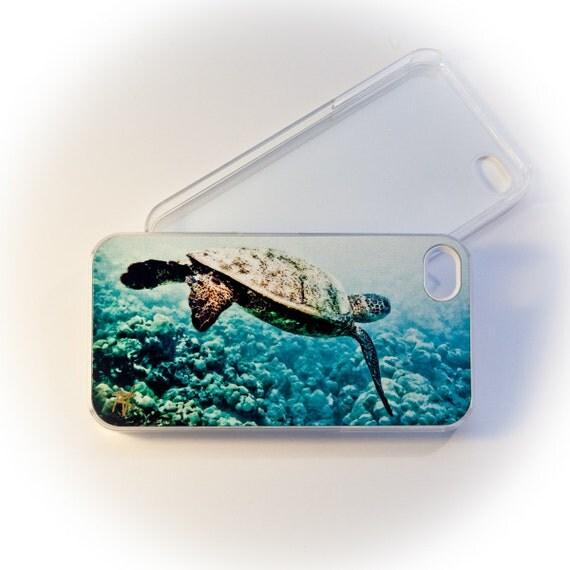Salty Wear Clear iPhone Case - Honu Reef