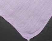 Vintage Linen Hankie, Handkerchief, Hankies, Hanky Lilac, Solid