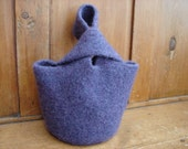 Lavender Felted Bag - Purple Lucy Purse