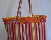 Large Tote Bag - Orange