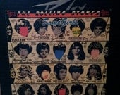 The Rolling Stones SOME GIRLS vintage vinyl record