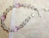 Swarovski Crystal Encouragement Bracelet