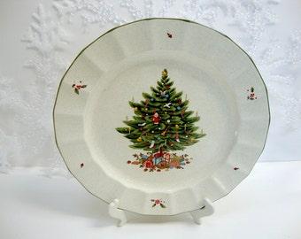 """Vintage Mikasa Happy Holidays 12 """" Platter"""