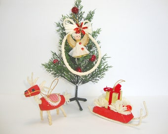 1969 Mr. Christmas Ornaments Made in Japan Set of Three