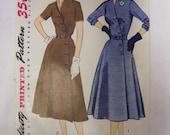 Vintage Simplicity 4087 One-Piece Dress