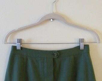 Pendleton Wool Skirt S 27 Waist