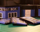 Police Box Duct Tape Wallet