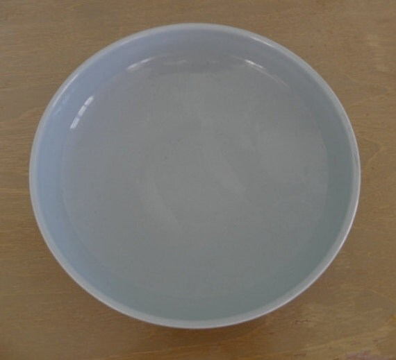 Russel Wright Iroquois Casual Serving Bowl--Ice Blue