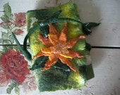 Felted notebook covers