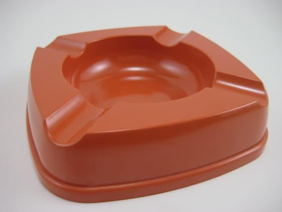 Ashtray Dish by Futura in Tangerine Orange