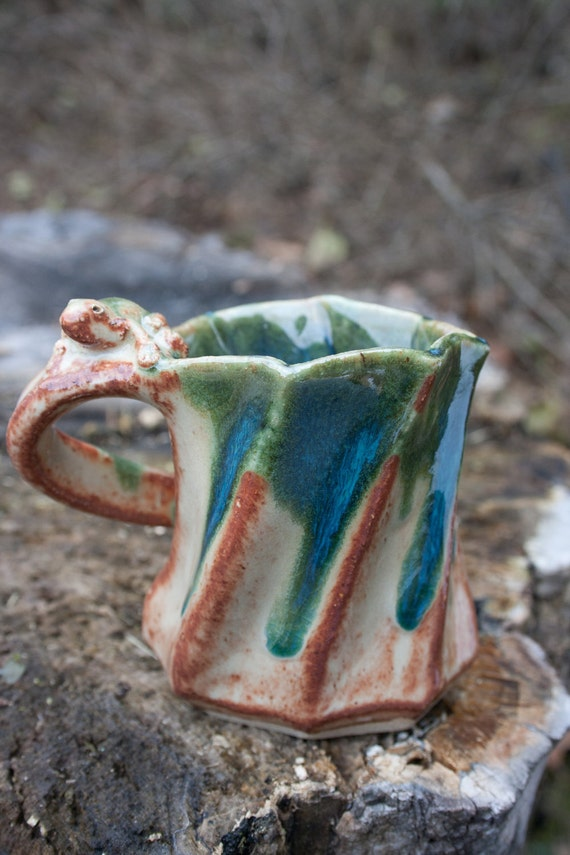 Twisted Sister Tea Cup from Clay Creature Comforts