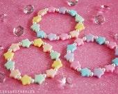 Pastel Star Bracelet Set