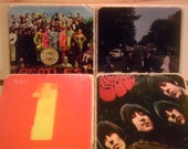 The Beatles Album Cover Coasters