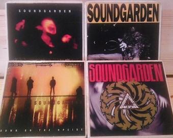 Soundgarden Album Cover Coasters