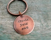 Personalized Key Chain- Design Your Own- Custom Creation- Handmade to Order