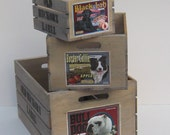 Set of 3 Mix or Match Wooden Crates