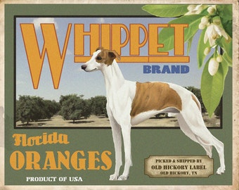 Whippet Small Wooden Crate