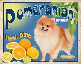 Pomeranian Small Wooden Crate
