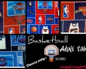 Handmade Fleece hand tied Blanket- Blanket for Adults- Men and Women- Basketball  Teams- Black Friday/Cyber Monday SALE!!!
