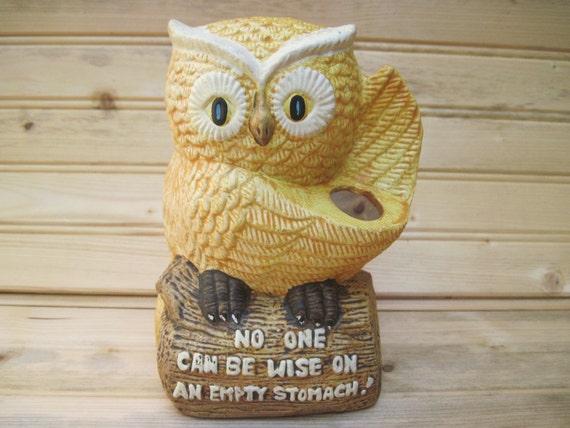 Utensil holder, kitchen utensil holder,owl kitchen