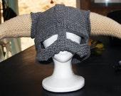 CROCHET PATTERN PDF for Skyrim Inspired Viking helmet