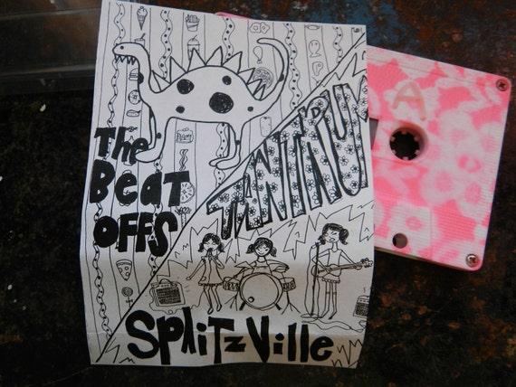 Tantrum / The Beat Offs Split Demo Tape