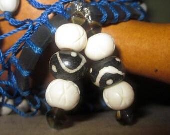 Mali Dangle Earrings with Sterling Silver Earwires