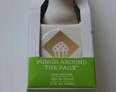 Martha Stewart Corner Paper Punch Cupcake