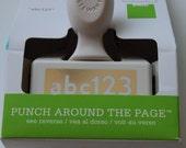 Martha Stewart Edge Paper Punch ABC123