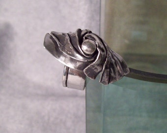 Sterling Silver Fold Formed Ring