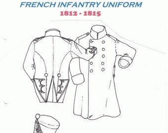 French Infantry Uniform Books.