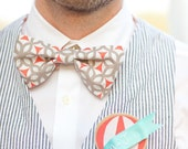Custom Pre-tied Bow Ties for Groom(smen) and Ring Bearers