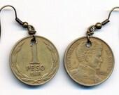 Chilean Coin Earrings