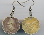 Tanzanian Coin Earrings