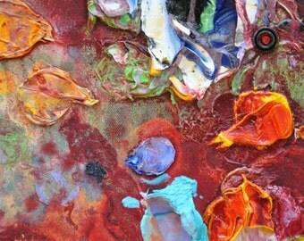 "Euphoria Detail One Giclee Fine Art Print by Tracey Chikos 16"" x 20"""