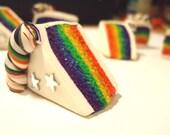 PHONE CHARM - Rainbow Cake