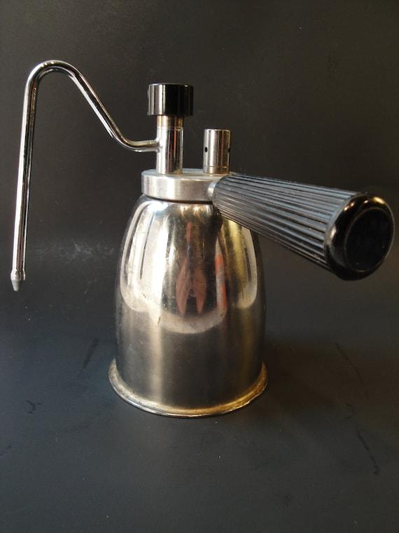 fantastic italian stovetop milk steamer vintage coffee kitchen