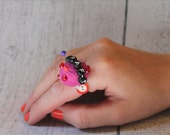Lil' Dot Pincushion Ring