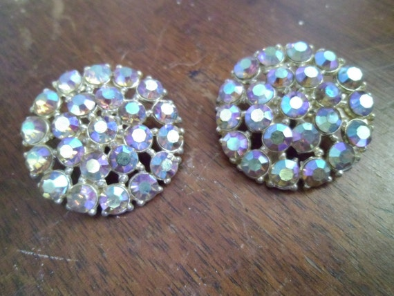 Vintage Rhinestone and Metal Buttons