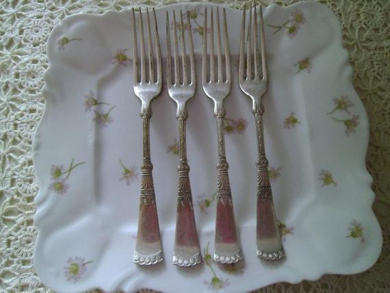 Vintage R & B Silver Plate Dinner/Luncheon Forks