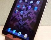 Groomsmen gift ipad iPhone 5 or 6 plus Smart Device Stand Recycled Wood Handmade
