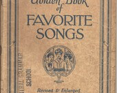 1920s Favorite Songs Song Book Art Deco Era Tunes Sing or Use in Altered Art